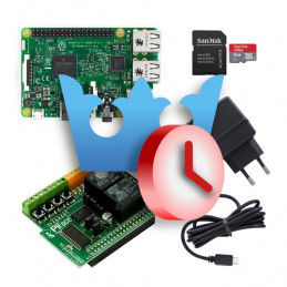 REX Starter sada s Raspberry Pi 3 a PiFace Digital 2