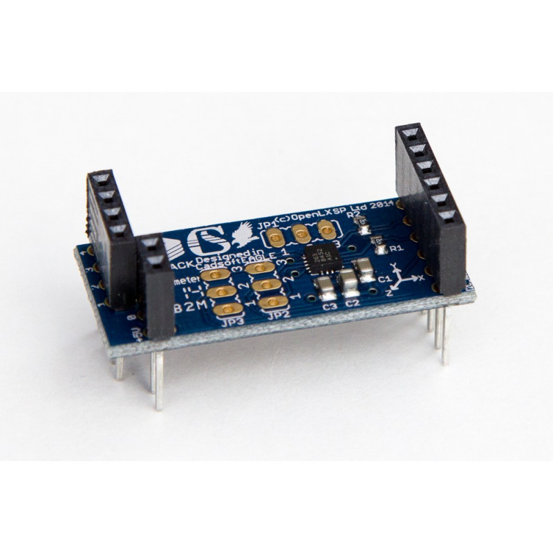 Microstack akcelerometr
