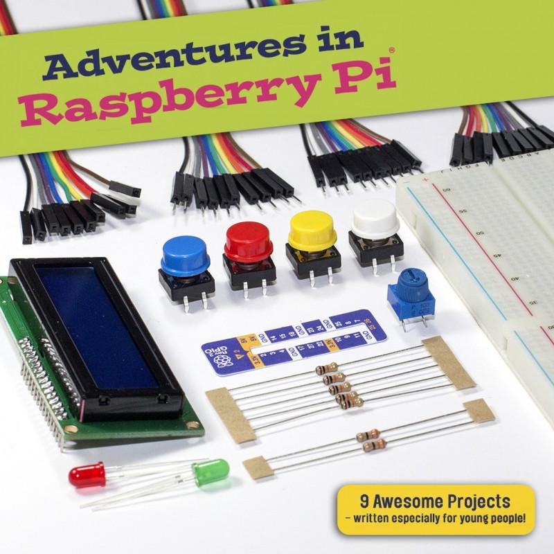 Adventures in Raspberry Pi - Parts Kit