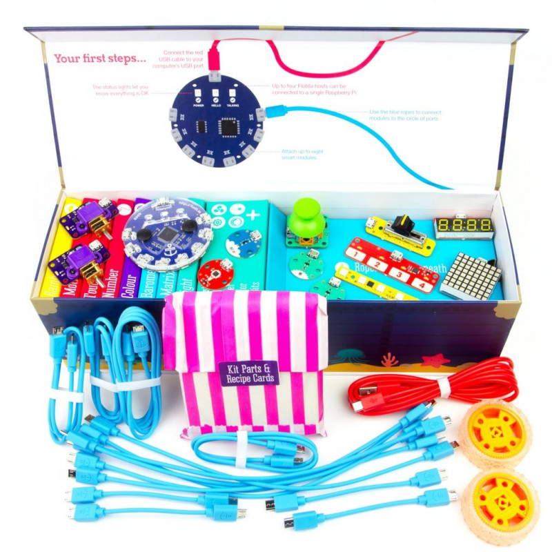 Flotilla - Mega Treasure Chest Starter Kit