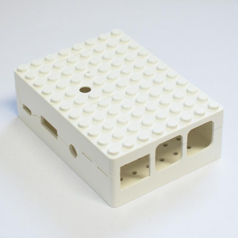 MULTICOMP LEGO® krabička 2/B+, bílá
