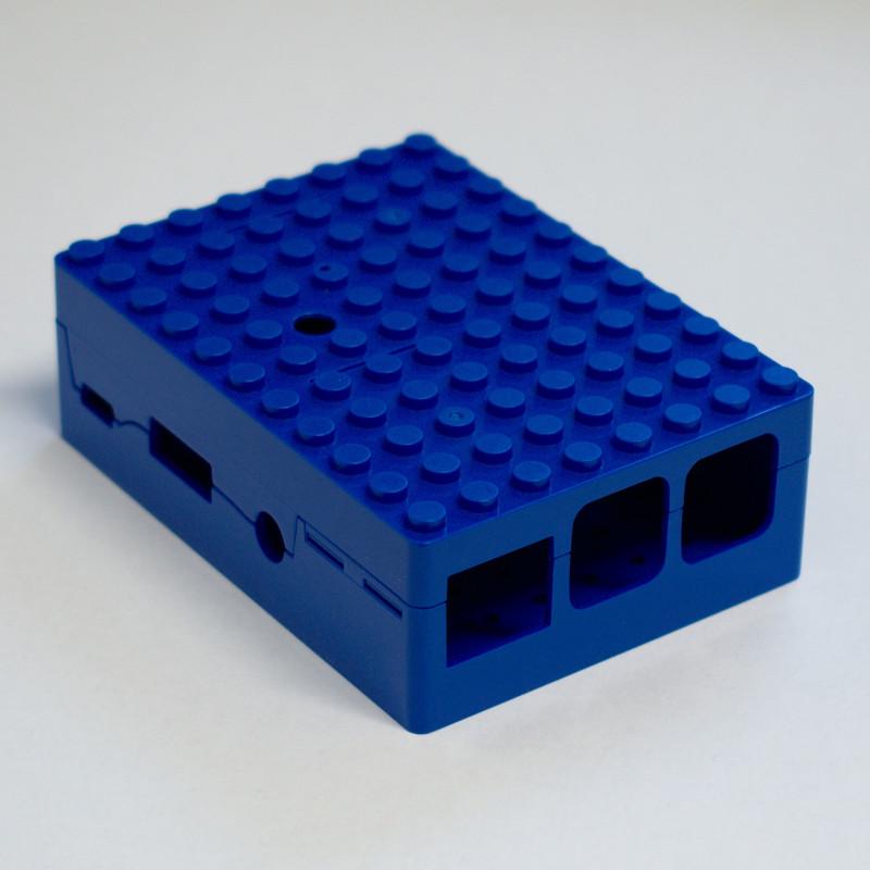 MULTICOMP LEGO® krabička 2/B+, modrá