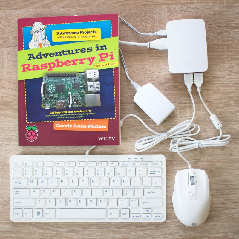 Oficiální Raspberry Pi 3 Starter Kit