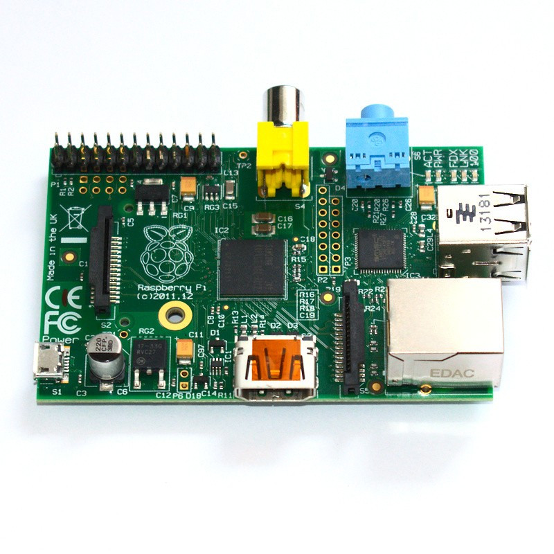 Raspberry Pi 1 Model B 512MB RAM Rev. 2.0
