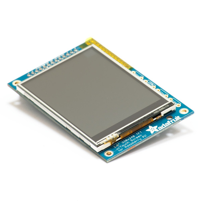 "PiTFT 2.8"" dotykový displej pro Raspberry Pi 1 Model B"