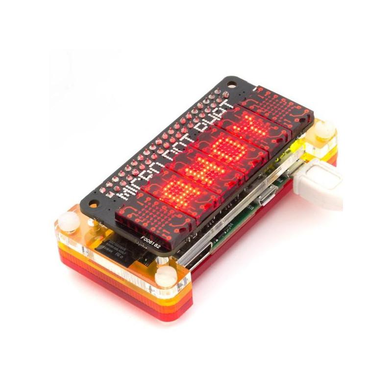 Micro Dot pHAT, červená