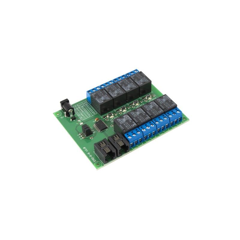 UniPi 8-Relay Addon EMO-R8