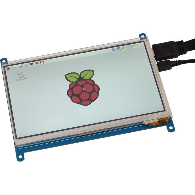 "Joy-iT 7"" dotykový LCD displej (HDMI+USB)"