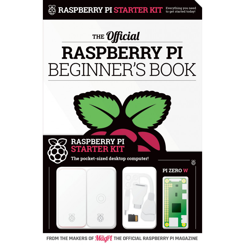 Raspberry Pi Beginner's Book + Raspberry Pi Starter Kit