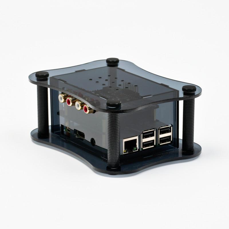 Akrylová krabička pro RPi & Kali & Piano 2.1, černá