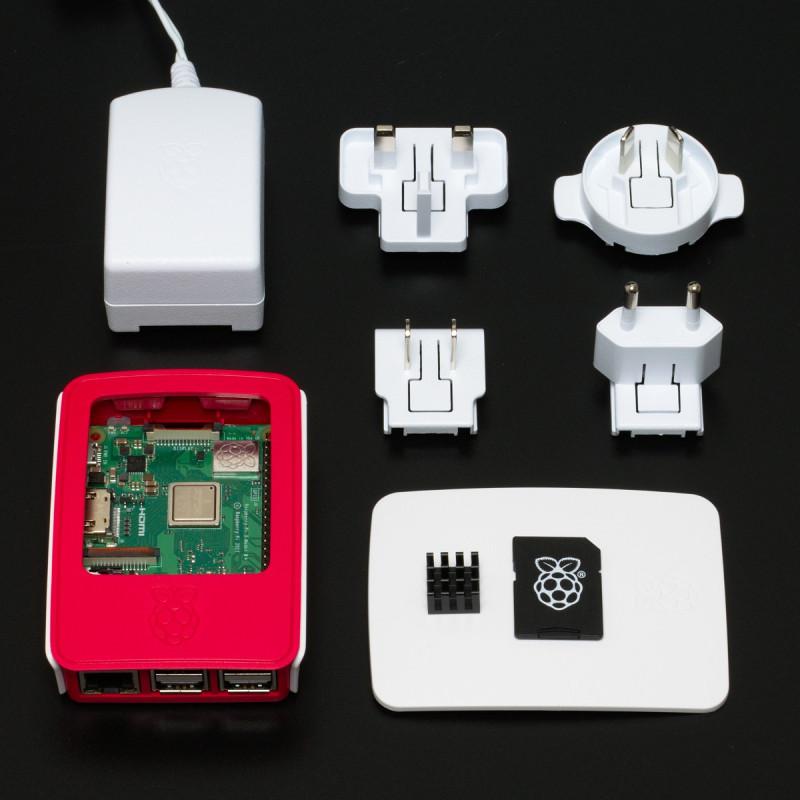 Raspberry Pi 3B+ OFICIÁLNÍ sada, bílá