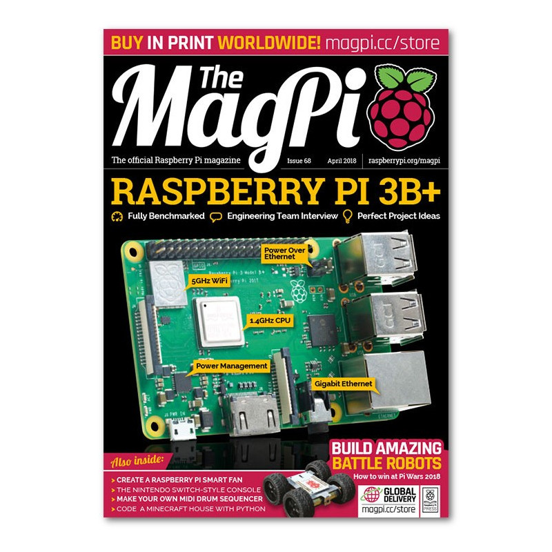 The MagPi 68