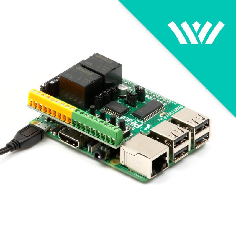 REXYGEN Starter Kit - Raspberry Pi 3B+ & PiFace Digital 2