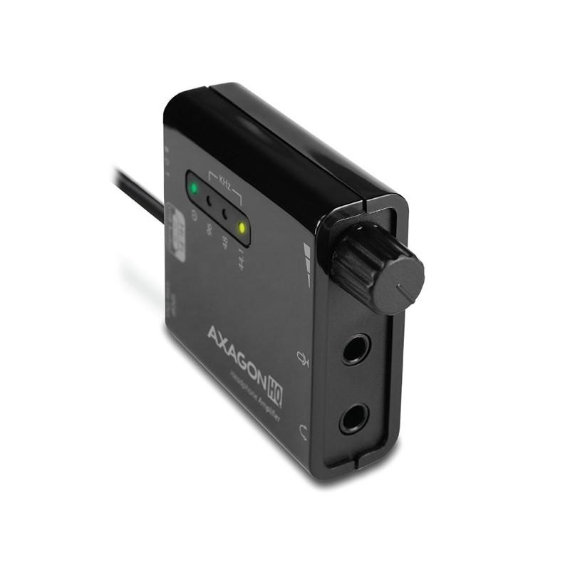 AXAGON ADA-HP USB - HQ audio+zesilovač