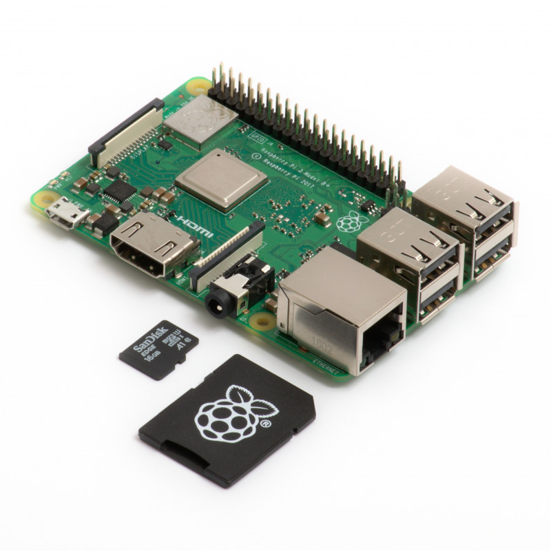 Raspberry Pi 3B+ & 16GB microSD