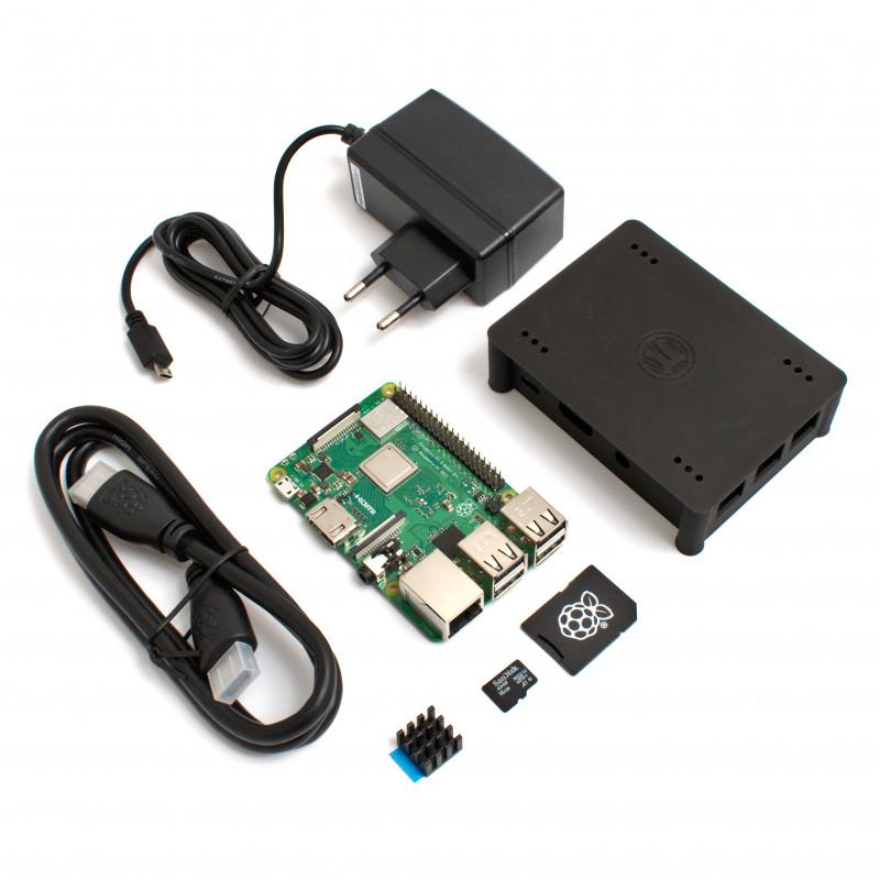 Raspberry Pi 3B+ EXTRA sada, černá