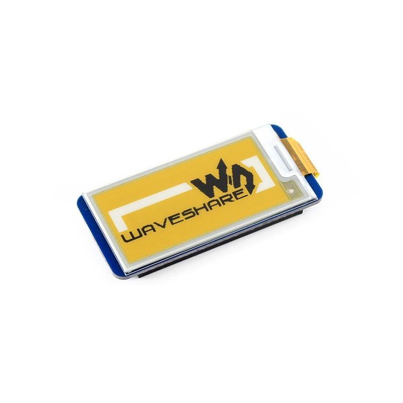 "Waveshare 2.13"" e-Paper pHAT žlutá/černá/bílá (C)"