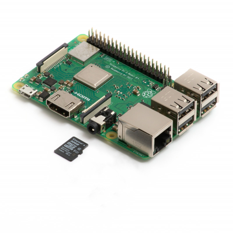Raspberry Pi 3B+ & 32GB microSD