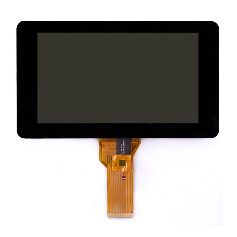 """Oficiální RPi kapacitně dotykový 7"""" 800x480 DSI displej"""