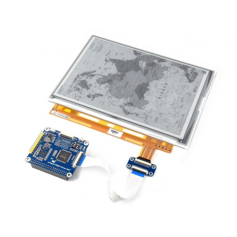 "Waveshare 9.7"" E-ink displej, 1200x825, USB/SPI/I80/I2C"