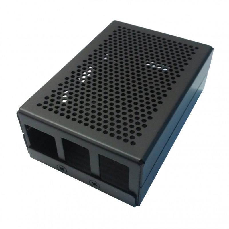 Hliníková krabička, černá