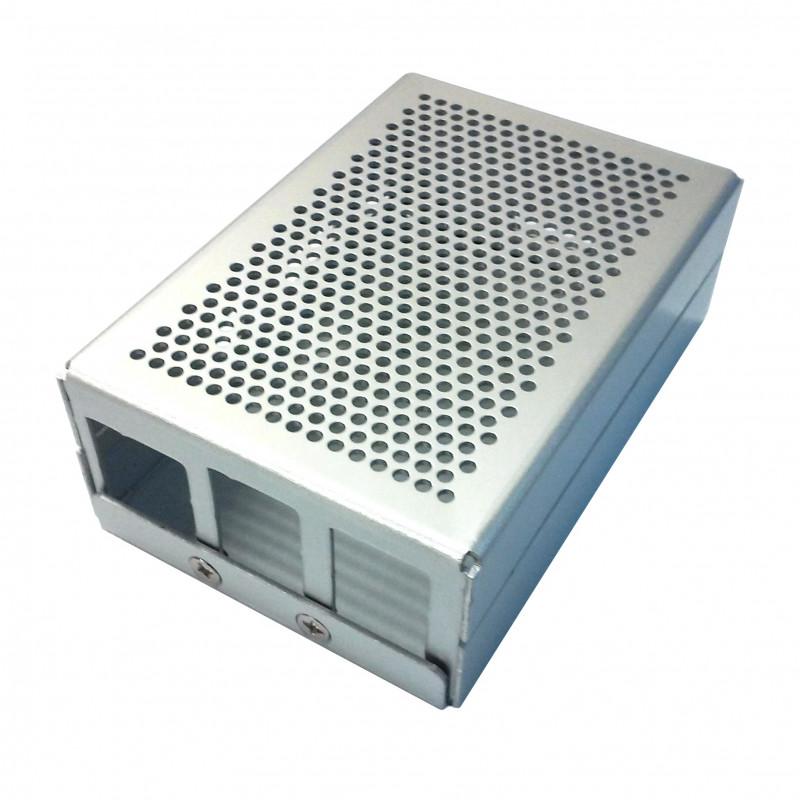 Hliníková krabička, stříbrná