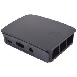 Oficiální RaspberryPi krabička, černo-šedá