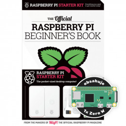 Raspberry Pi Beginner's Book + Raspberry Pi Zero Starter Kit