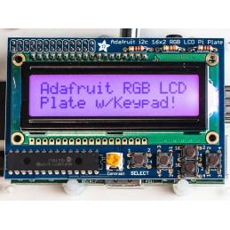 RGB pozitivní 16x2 LCD kit