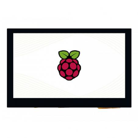 """Waveshare 4,3"""" DSI LCD displej, IPS, 800×480, I2C, MIPI DSI, dotykový, kapacitní"""