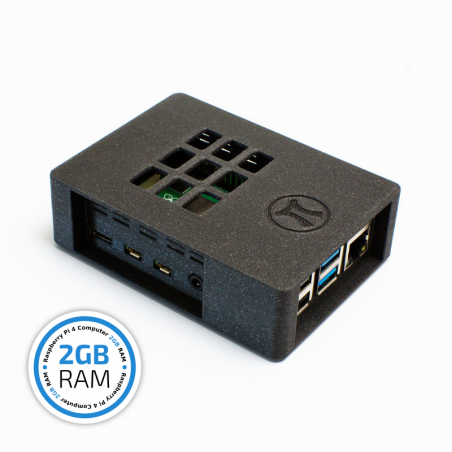 Raspberry Pi 4B/2GB HTPC komplet, Zonepi galaxy