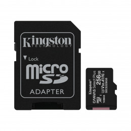 Kingston 256GB micSDXC Canvas Select Plus 100R A1 C10 karta + ADP
