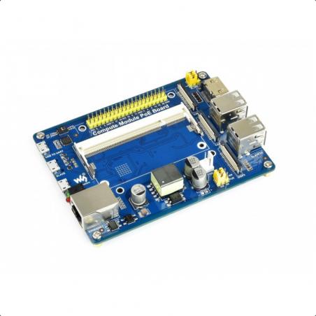 Waveshare Compute Module PoE IO Board