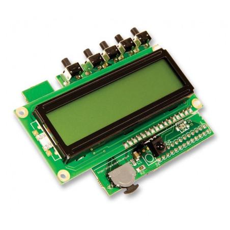 PiFace CAD 2 - ovládání a displej