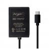Argon USB-C 5,25V⎓3,5A napájecí zdroj, EU, černá