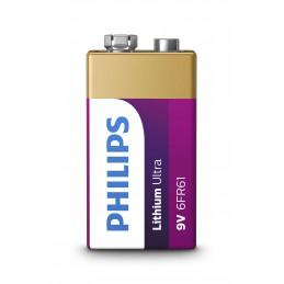 Philips Lithium Ultra 9V 6FR61