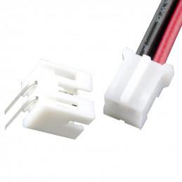 2 pinový kabel JST samice +...