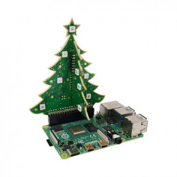 3D RGB vánoční stromeček...