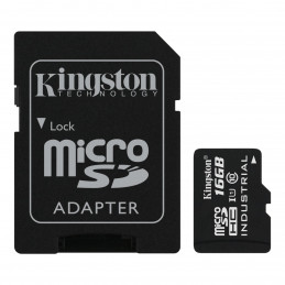Kingston 16GB microSDHC Industrial Temperature UHS-I karta + ADP