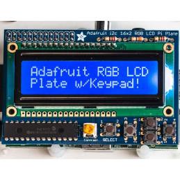 RGB negativní 16x2 LCD kit