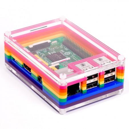 Krabička Pibow 3, Rainbow