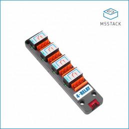 M5Stack čtyřcestné relé