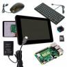 """Zonepi all-in-one komplet s RPi 4B/4GB a RPi 7"""" displejem, black"""