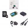 Zonepi sada s Raspberry Pi 4, 2GB RAM, 32GB karta, oficiální krabička, černá
