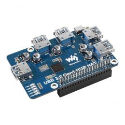 Waveshare USB 3.2 Gen1 HUB...