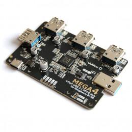 UUGear Mega4: 4portový USB...