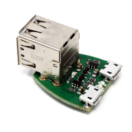 Duální Micro-USB napájení