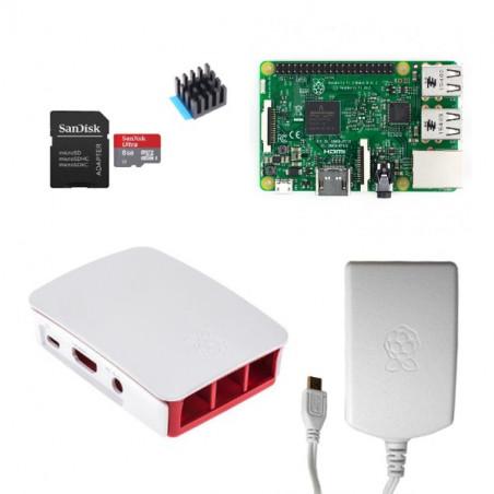 Raspberry Pi 3B sada, oficiální, bílá