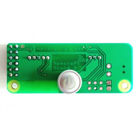 RemotePi vypínač pro Pi 3 (externí IR a LED)