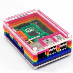 Krabička Pibow 2/B+, Rainbow